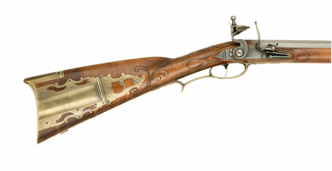 Jim Kibler Rifle golden age in style of George Eister