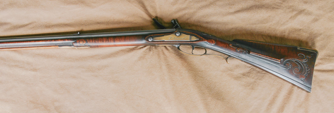 Jim Kibler Colonial Rifle Kit in maple